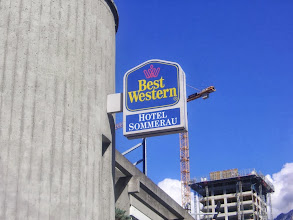 Photo: Ankunft im Hotel in Chur