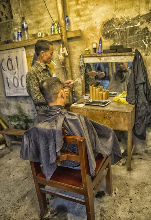 Il Barbiere di strada di Alessio Moccia