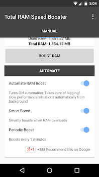 Total RAM Speed Booster Free
