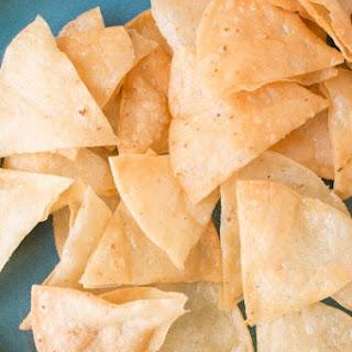 How to Make Homemade Crispy Tortilla Chips.