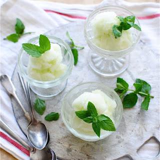 Cucumber Mint Sorbet