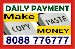 Online Copy paste job | 1640 | Work at Home job Daily payment