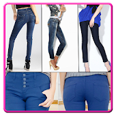 Ladies Fashion Jeans Designs