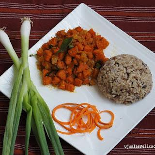 Carrot Sauté with Coconut Recipe