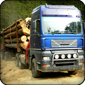 Wood Cargo Truck Hill Transport 2017