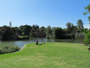 Photo: Ornamental Lake in the Royal Botanic Gardens in Melbourne