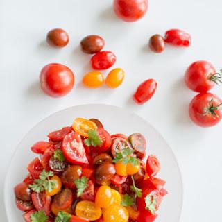 Simple Summer Tomato Salad