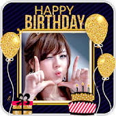 Happy Birthday Photo Frame Special Stickers