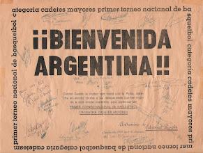 Photo: cartel firmado por mis compañeros