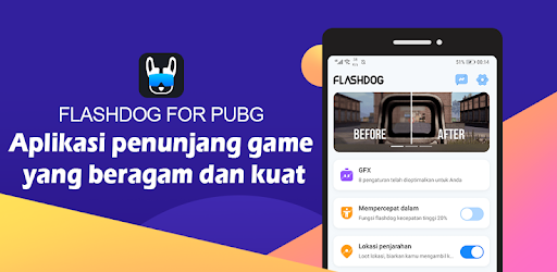 FlashDog - Alat GFX Terbaik Untuk PUBG - Revenue & Download