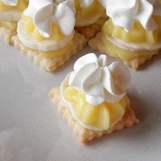 Bite Size Banana Cream Pie.
