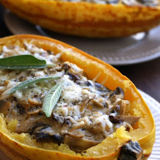 Spaghetti Squash Mushrooms Recipes