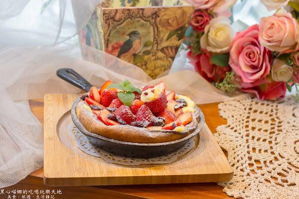 戀家 咖啡 慢食 鄉村雜貨 手作教室 冬天,就該在鄉村風格的溫暖氛圍中,囂張吃草莓!!