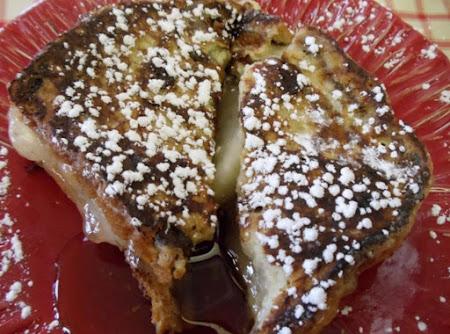 French Apple-Raisin Breakfast Sandwiches Recipe
