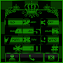 Green Chess Crown Dialer theme APK icon