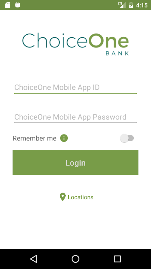 ChoiceOne Mobile Banking- screenshot