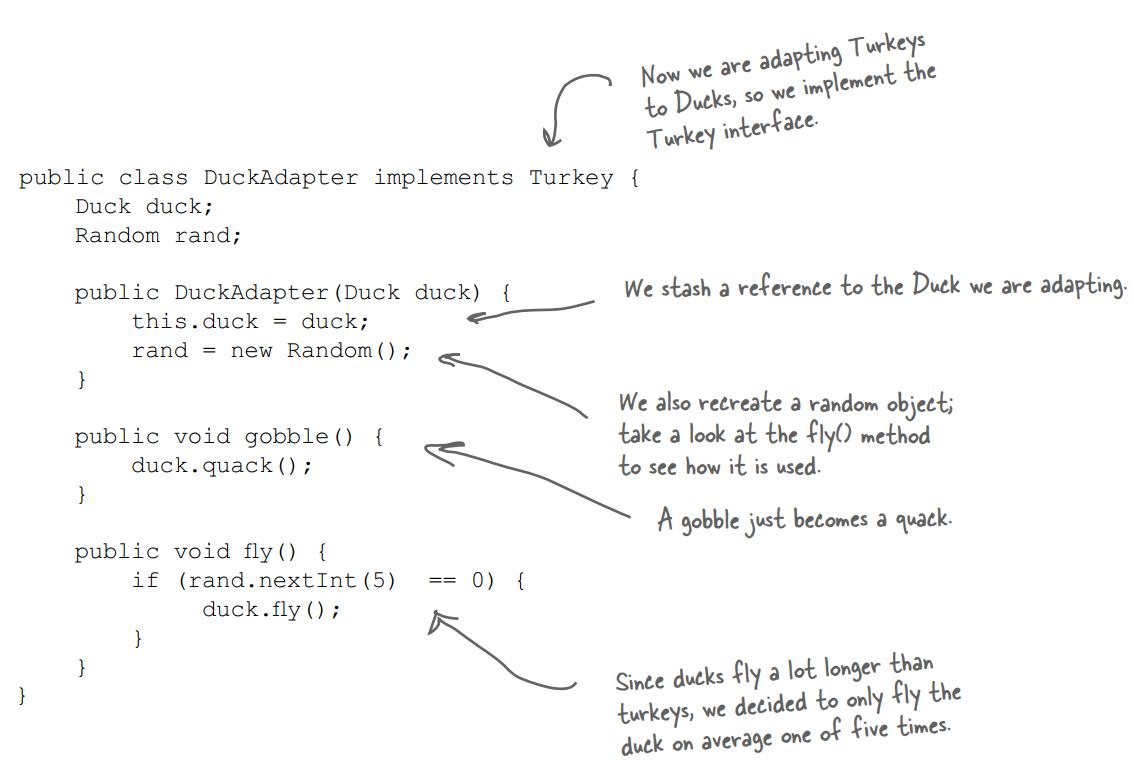Lớp DuckAdapter