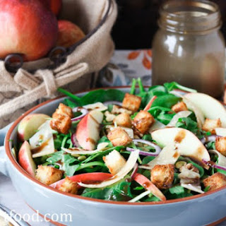 Mixed Green Salad With Apples Recipes.