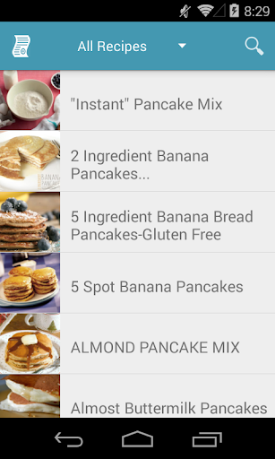 Code Triche Pancake Recipes Free APK MOD screenshots 1