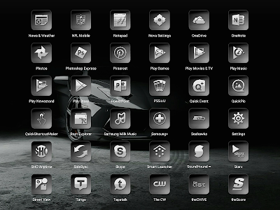 Bacca Gray - Icon Pack screenshot 16