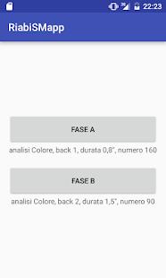 RiabiSM App - náhled