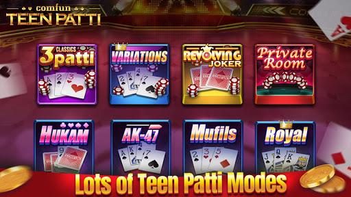 Teen Patti Comfun-3 Patti Flash Card Game Online screenshot 2