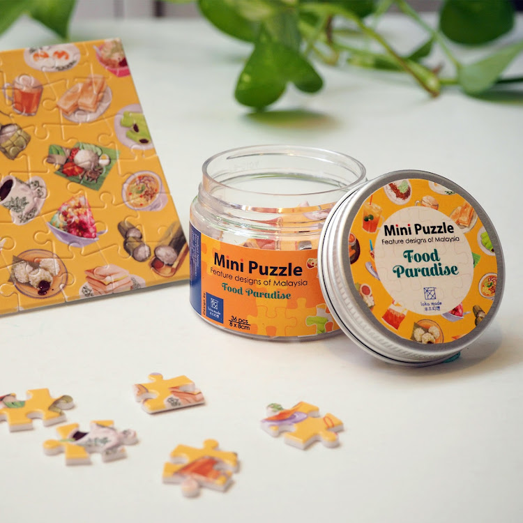 Mini Puzzle: Food paradise by Loka Made