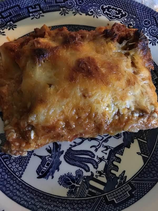 Loaded Pizza Lasagne Recipe