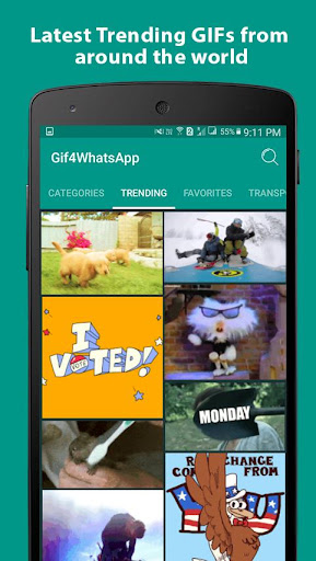 GIF for WhatsApp 2.2.1 screenshots 1