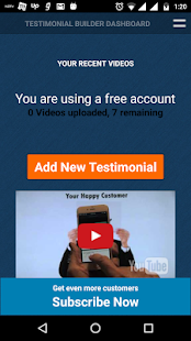 Testimonial Builder- screenshot thumbnail