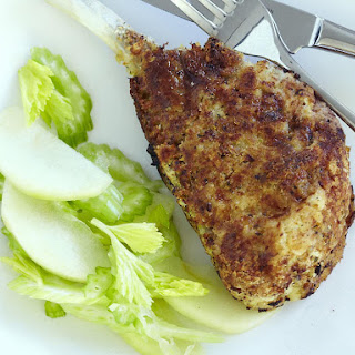Breaded Pork Cutlet with Apple Celery Salad