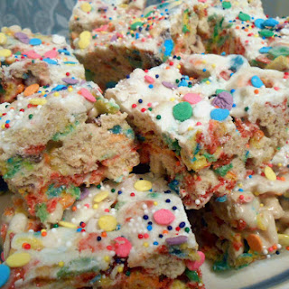 End of the Rainbow Cereal Treats
