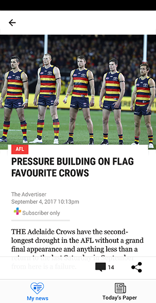 The Advertiser- screenshot