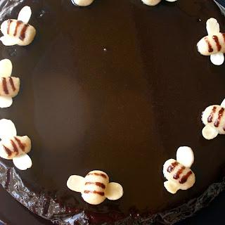 Nigella's Honey Chocolate Cake And Blogversary