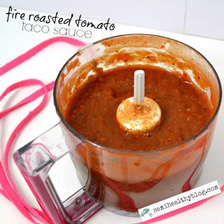 Fire Roasted Tomato Taco Sauce.