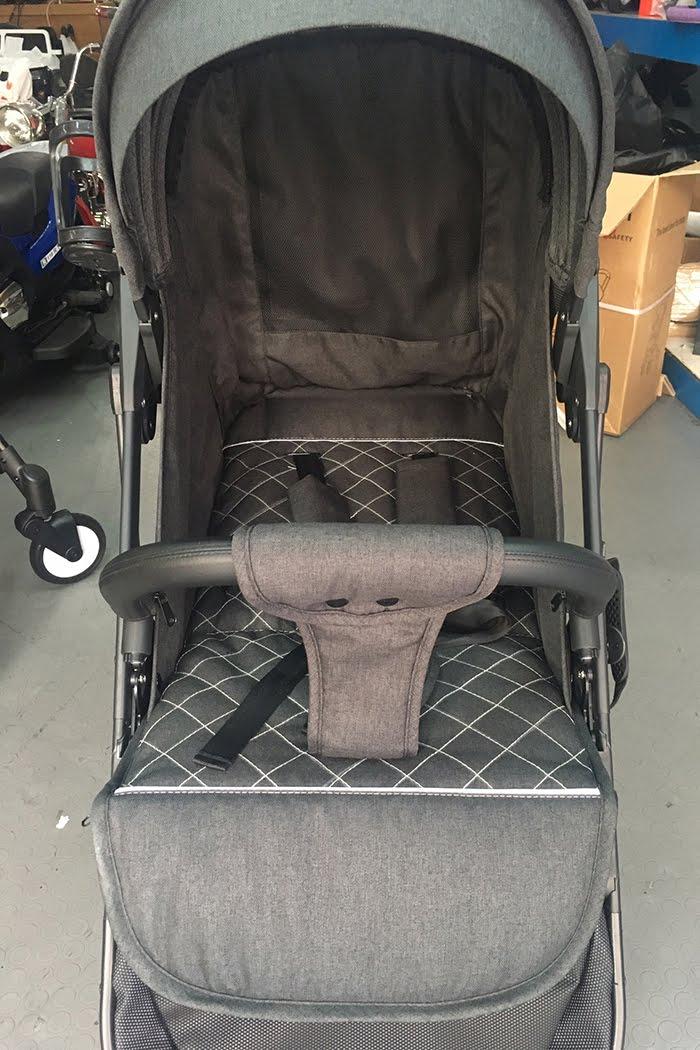 Xe đẩy Topbi S600 có tay kéo vali 18