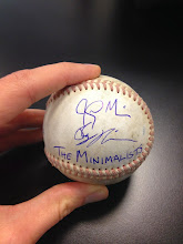 Photo: Boston, our first signed baseball