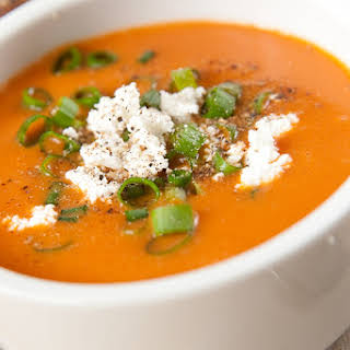 Low Fat Roasted Red Pepper Tomato Soup Recipes.