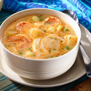 Chupe de Camarones – Peruvian-Style Shrimp Soup.