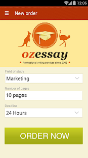OzEssay- screenshot thumbnail