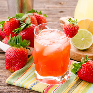 Strawberry Whiskey Sour.
