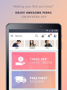 Myntra Online Shopping App- screenshot thumbnail