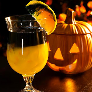 Black Magic Halloween Cocktail