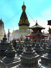 Photo: Swayambunath in Kathmandu