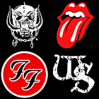 Rock and Metal Logo Quiz icon