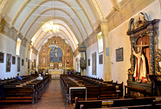 Photo: 61. Here's the church itself. There was a funeral happening when I first got there ... it is very much a functional Catholic parish.