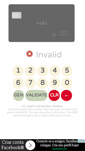 Credit card generator with CVV screenshot 3