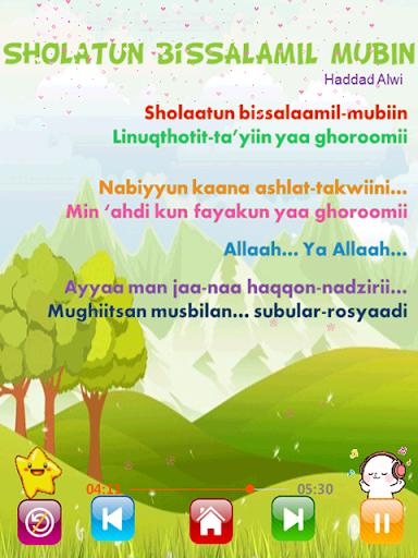 Lagu Sholawat Anak Lengkap filehippodl screenshot 14