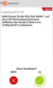 Die RETTalarm® Pager APP screenshot 1