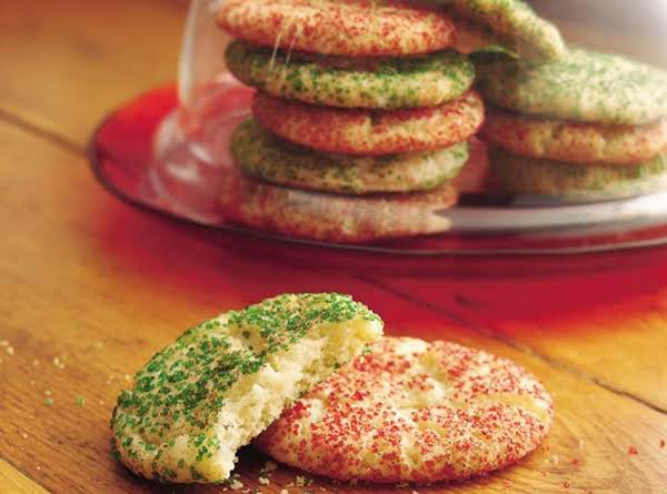 Holiday Snickerdoodles Recipe